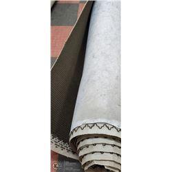 COMMERCIAL BROWN CARPET  30' X 12'