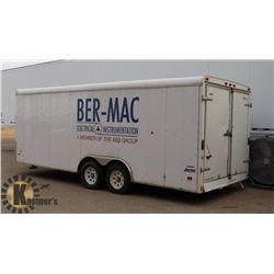 2009 PACE AMERICAN 20FT CARGO TRAILER