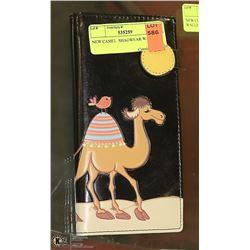 NEW CAMEL  SHAGWEAR WALLET