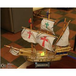 SANTA MARIA 1492 COLLECTIBLE MODEL SHIP