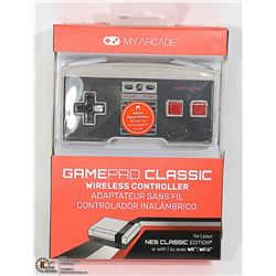 NEW MY ARCADE NES CLASSIC WIRELESS CONTROLLER