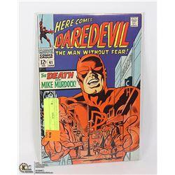 DAREDEVIL # 41 NICE GRADE COMIC