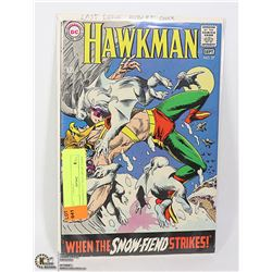 HAWKMAN # 27 NICE GRADE COMIC