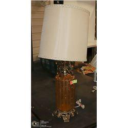 AMBER MCM LAMP