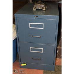 FILE CABINET LEGAL SIZE, 2 DRAWER 26.5 X 18 X 29