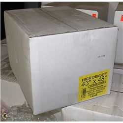 "CASE OF 200 - 43"" X 48"" FOOD GRADE BAGS"