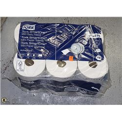 PACK OF 12 TORK BRAND EXTRA LARGE TOILET PAPER