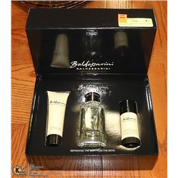 BALDERSSARINI 3PC SET: INCLUDES SHOWER GEL,