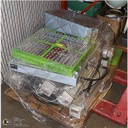 PALLET OF HPS AND LED GROW LIGHTS