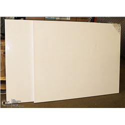 "LOT OF 2 ARTISTIC PAINTING CANVASES 48"" X 60"""