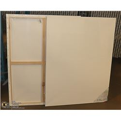 "LOT OF 2 ARTISTIC PAINTING CANVASES 30"" X 40"""