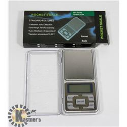 NEW GREY DIGITAL POCKET SCALE 500G / 0.01G