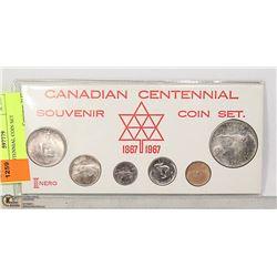 CAD CENTENNIAL COIN SET
