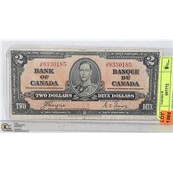 CAD 1937 $2 BILL