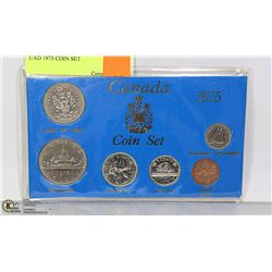 CAD 1975 COIN SET