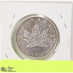 CAD 2009 1 TROY OUNCE .999 SILVER COIN