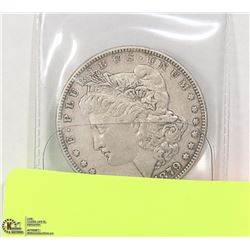 USD 1879 MORGAN SILVER DOLLAR