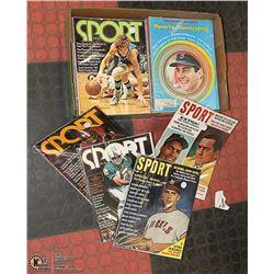 ESTATE 50'S TO 70'S SPORTS MAGAZINES