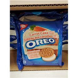 CASE WITH 12 303G PACKS OF CARROT CAKE OREOS