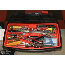 B&D TOOL BOX WITH CONTENTS