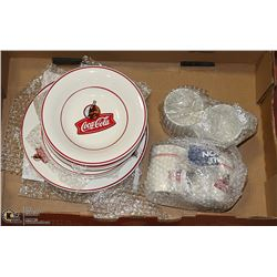 SETS OF COLLECTIBLE COKE DISHES