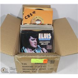 45S FEATURING ELVIS (COLORED VINYL PICTURE SLEEVES