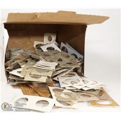 BOX OF MISC COIN HOLDERS