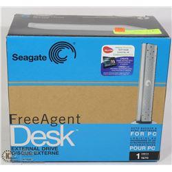 SEAGATE FREE AGENT DESK EXTERNAL DRIVE,