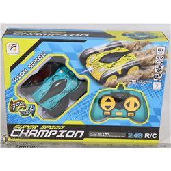 SUPER SPEED CHAMPION 4 CHANNEL RC CAR. KIDS