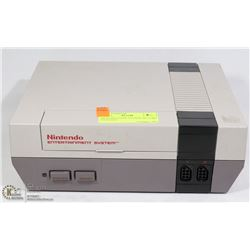 NINTENDO GAME SYSTEM, NO CORD UNTESTED.