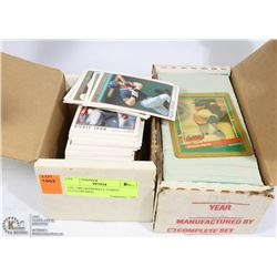 1991-1992 BASEBALL CARDS UNSEARCHED