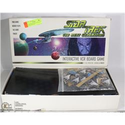 STAR TREK THE NEXT GENERATION INTERACTIVE VCR