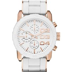 NEW DIESEL TRIPLE CHRONO 46MM WHITE DIAL MSRP$326