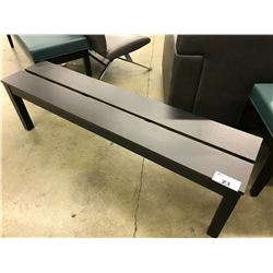 5' DARKWOOD BENCH