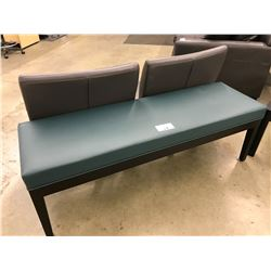 GREEN AND DARKWOOD 5' BENCH