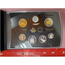 2020 PROOF SET - SILVER & GOLD PLATING