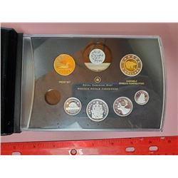 2012 PROOF SET - SILVER & GOLD PLATING