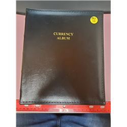 CURRENCY ALBUM WITH SHEETS
