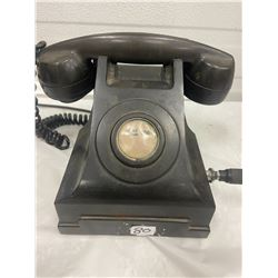 Vintage Black Telephone
