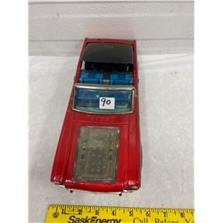 Tin Mustang Car - Battery Operated - Japan 13""
