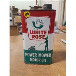 White Rose Qt. Outboard Oil Can