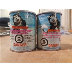 2X Full 4 Oz. Malamute Tin Cans