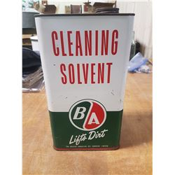 B/A Gallon Solvent Can
