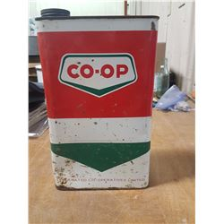 Coop Gallon Qt. Oil Can