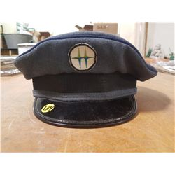 Vintage Service Station Attendant Hat (possibly Royalite Oil Company)