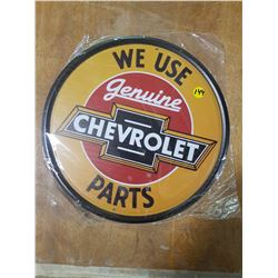 "12"" Round Reproduction Sign"