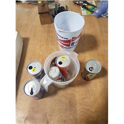 2x Beer Pitchers & Beer Cans