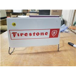 Vintage Firestone Steel Tire Rack