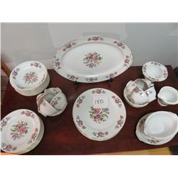 6 Place setting 'Occupied Japan Dishes' - 41 pieces in total, very rare