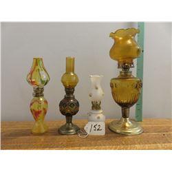 4 decorative perfume lamps